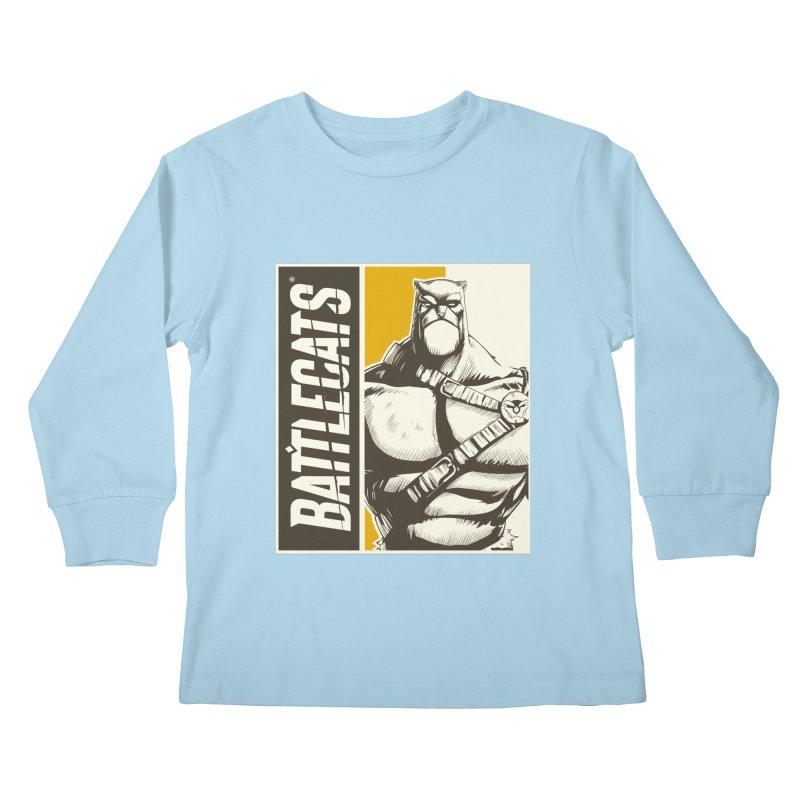 Battlecats - Zorien Kids Longsleeve T-Shirt by Mad Cave Studios's Artist Shop