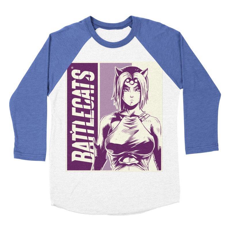 Battlecats - Vaela Women's Baseball Triblend Longsleeve T-Shirt by Mad Cave Studios's Artist Shop
