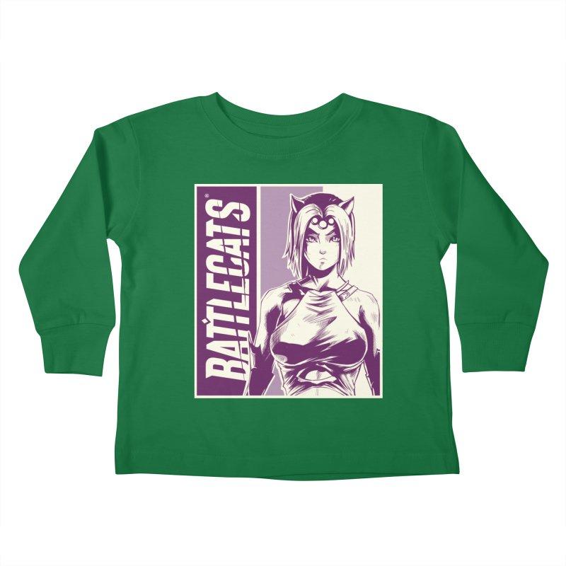 Battlecats - Vaela Kids Toddler Longsleeve T-Shirt by Mad Cave Studios's Artist Shop