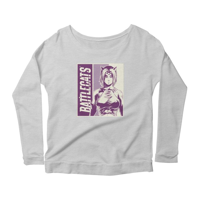 Battlecats - Vaela Women's Scoop Neck Longsleeve T-Shirt by Mad Cave Studios's Artist Shop