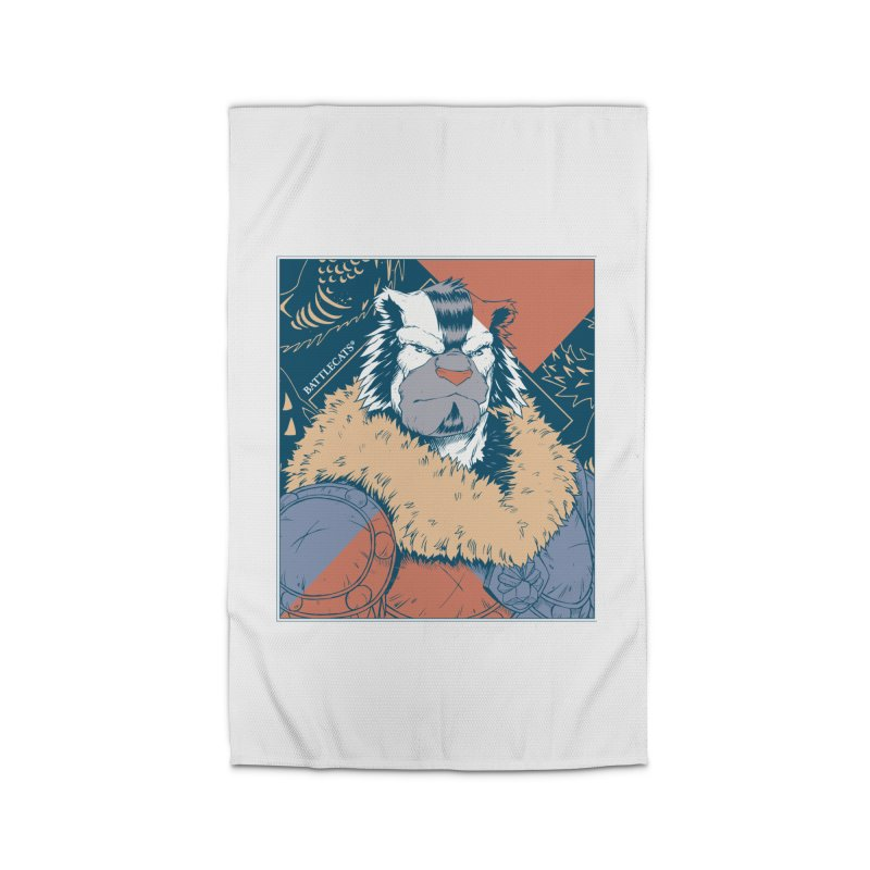 Battlecats - Kelthan - Pop Art Home Rug by Mad Cave Studios's Artist Shop