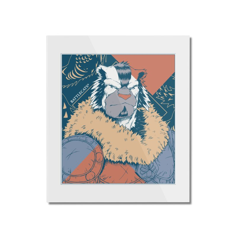 Battlecats - Kelthan - Pop Art Home Mounted Acrylic Print by Mad Cave Studios's Artist Shop