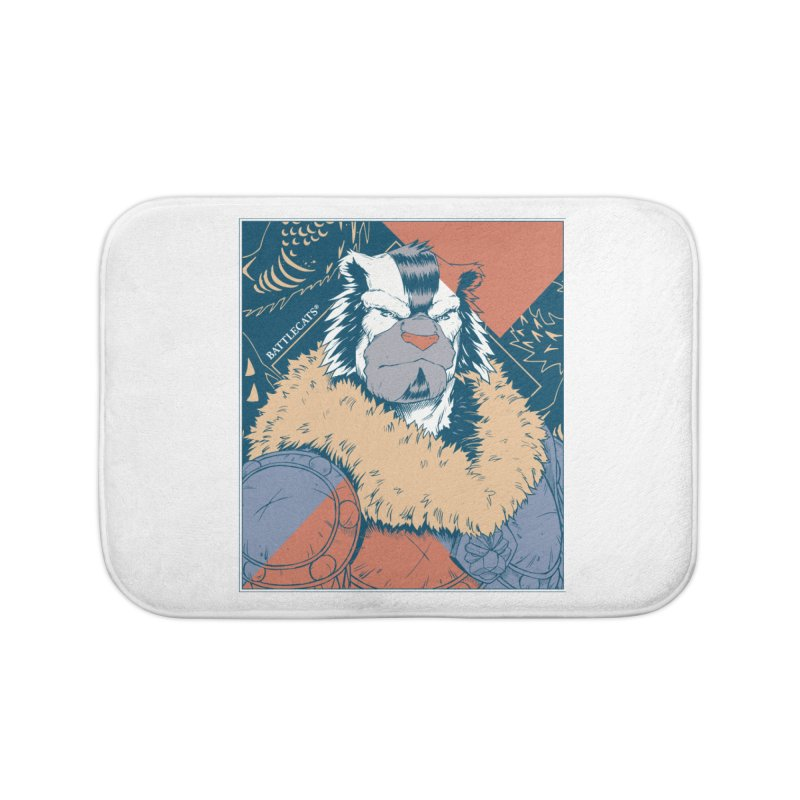 Battlecats - Kelthan - Pop Art Home Bath Mat by Mad Cave Studios's Artist Shop