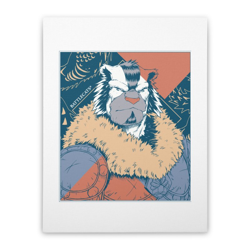 Battlecats - Kelthan - Pop Art Home Stretched Canvas by Mad Cave Studios's Artist Shop