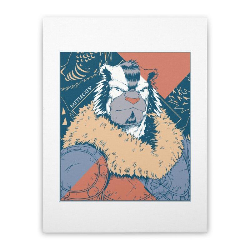 Battlecats - Kelthan - Pop Art Home Stretched Canvas by MadCaveStudios's Artist Shop