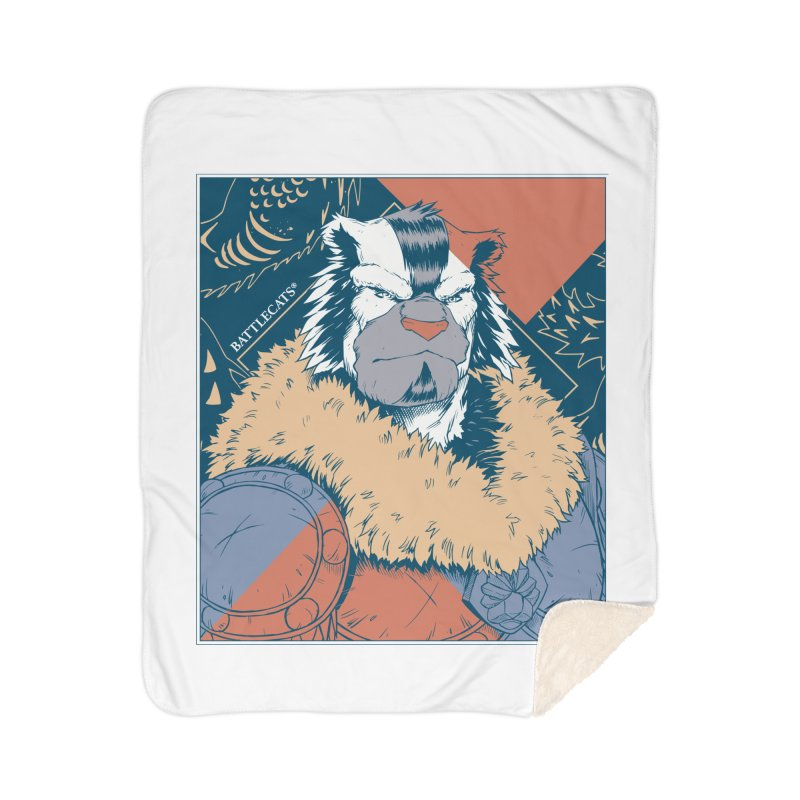 Battlecats - Kelthan - Pop Art Home Sherpa Blanket Blanket by Mad Cave Studios's Artist Shop