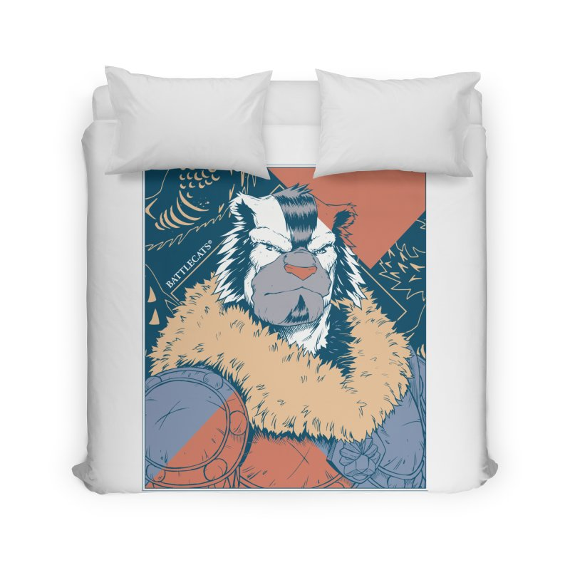 Battlecats - Kelthan - Pop Art Home Duvet by Mad Cave Studios's Artist Shop