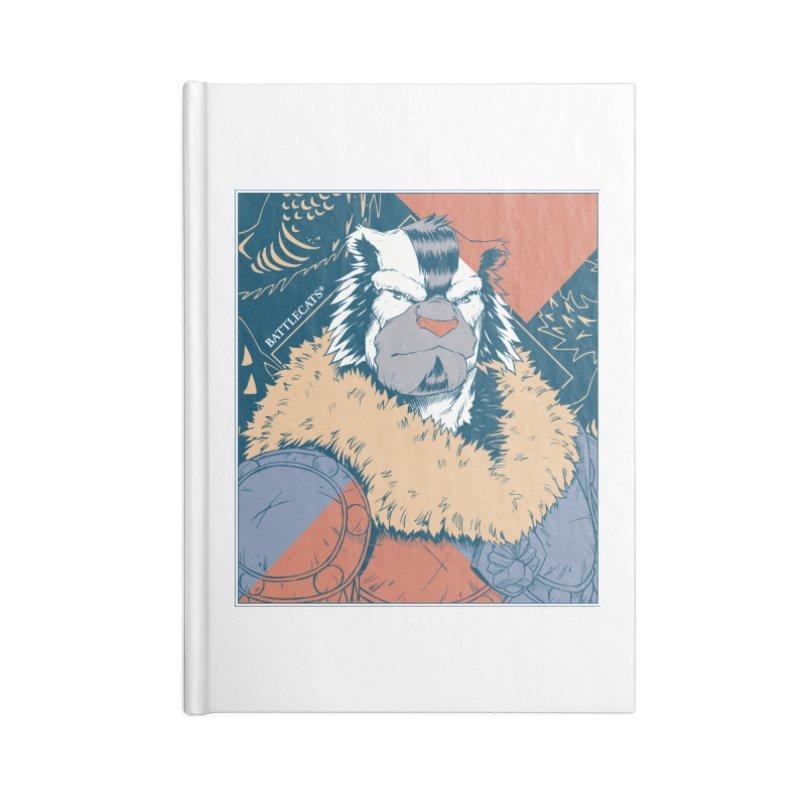 Battlecats - Kelthan - Pop Art Accessories Lined Journal Notebook by Mad Cave Studios's Artist Shop