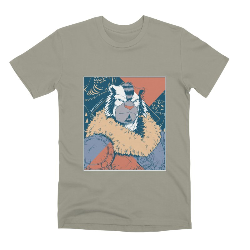 Battlecats - Kelthan - Pop Art Men's Premium T-Shirt by MadCaveStudios's Artist Shop