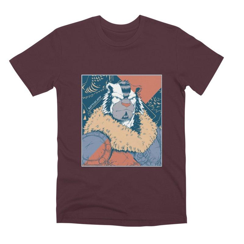 Battlecats - Kelthan - Pop Art Men's Premium T-Shirt by Mad Cave Studios's Artist Shop