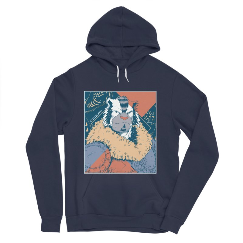 Battlecats - Kelthan - Pop Art Men's Sponge Fleece Pullover Hoody by Mad Cave Studios's Artist Shop