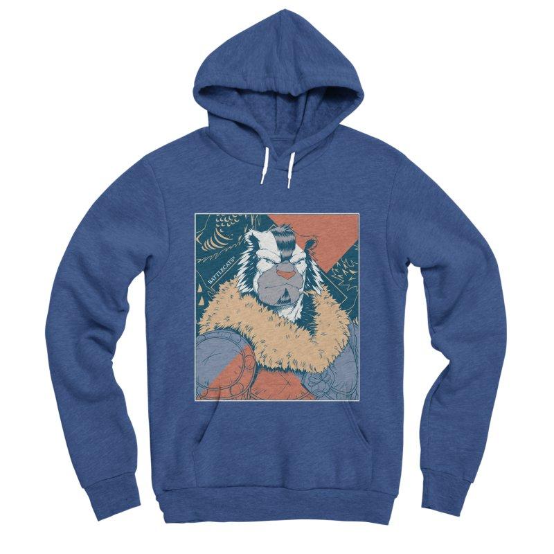 Battlecats - Kelthan - Pop Art Men's Sponge Fleece Pullover Hoody by Mad Cave Studios's Artist Shop