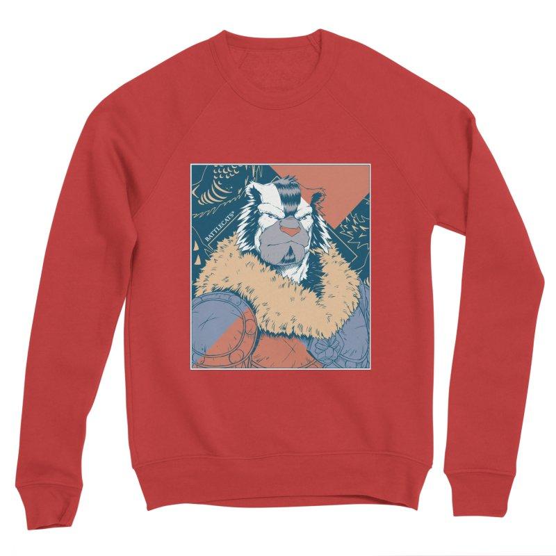 Battlecats - Kelthan - Pop Art Men's Sponge Fleece Sweatshirt by Mad Cave Studios's Artist Shop