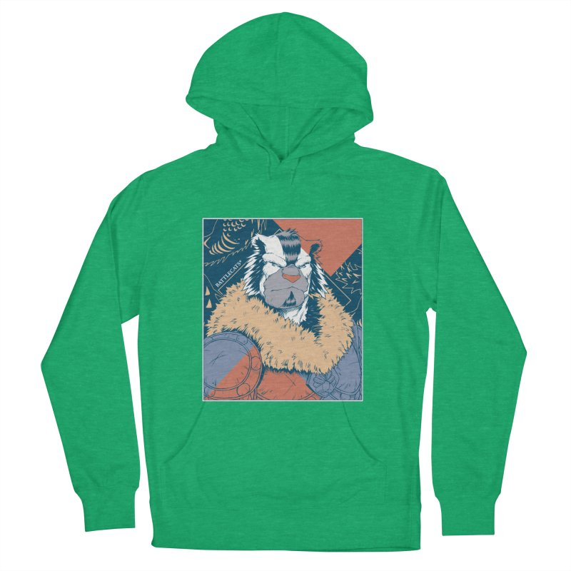 Battlecats - Kelthan - Pop Art Men's French Terry Pullover Hoody by Mad Cave Studios's Artist Shop