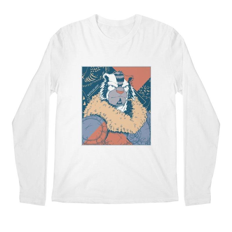 Battlecats - Kelthan - Pop Art Men's Regular Longsleeve T-Shirt by Mad Cave Studios's Artist Shop