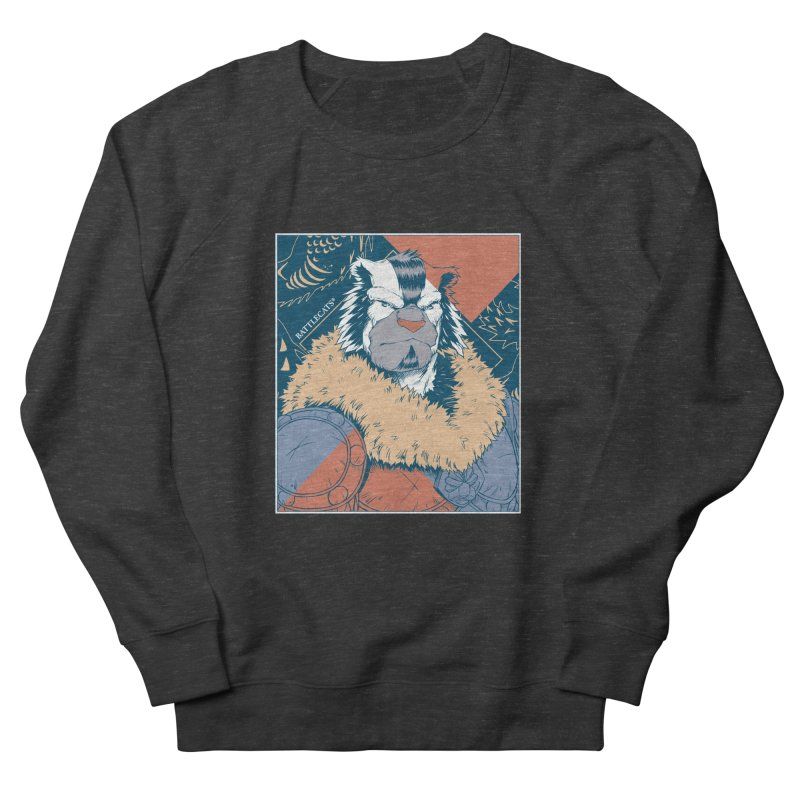 Battlecats - Kelthan - Pop Art Men's French Terry Sweatshirt by Mad Cave Studios's Artist Shop