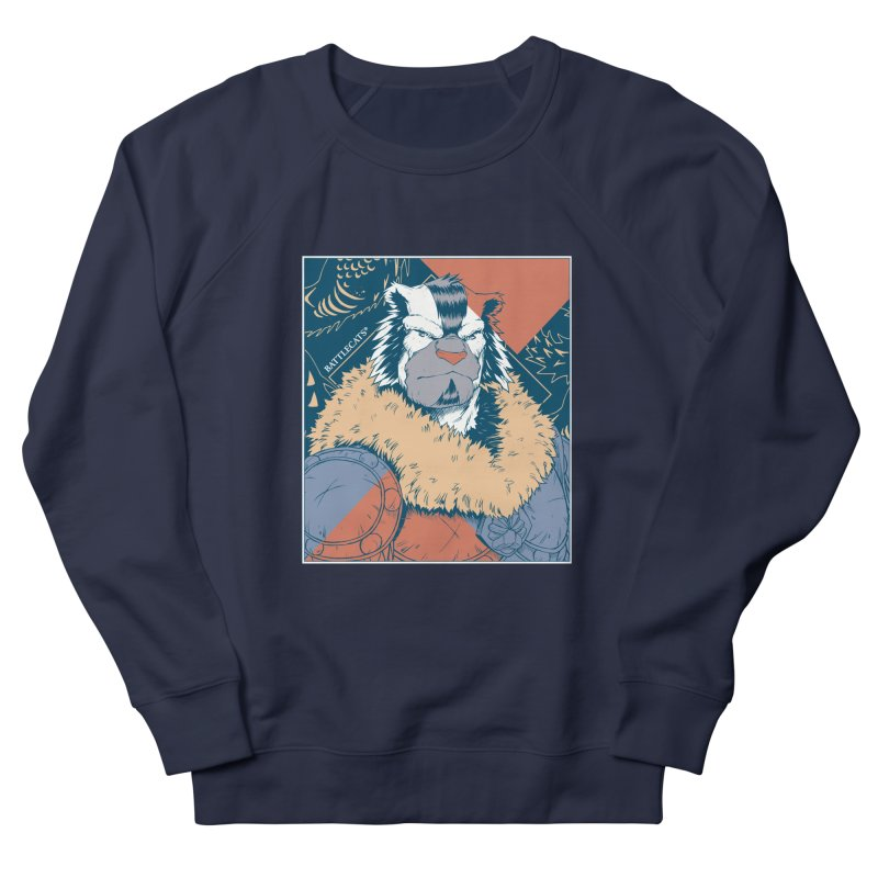 Battlecats - Kelthan - Pop Art Men's French Terry Sweatshirt by Mad Cave Studios's Artist Shop