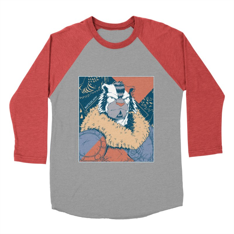 Battlecats - Kelthan - Pop Art Men's Baseball Triblend Longsleeve T-Shirt by Mad Cave Studios's Artist Shop