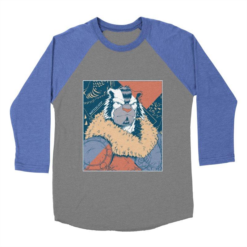 Battlecats - Kelthan - Pop Art Men's Baseball Triblend Longsleeve T-Shirt by MadCaveStudios's Artist Shop