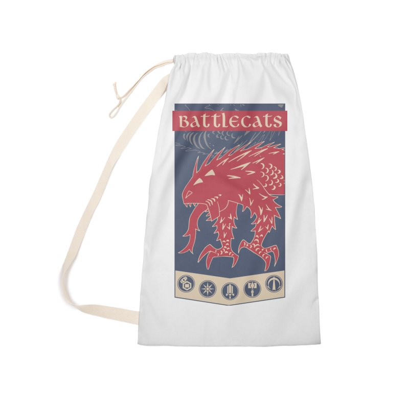 Battlecats - The Dire Beast Accessories Laundry Bag Bag by Mad Cave Studios's Artist Shop