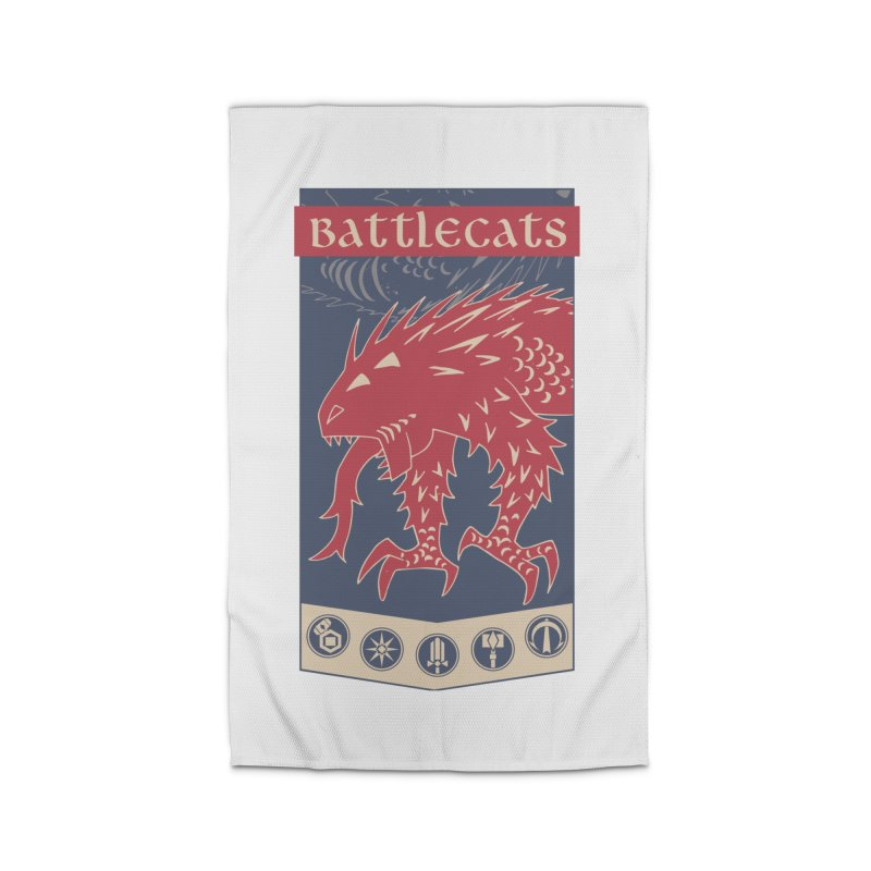 Battlecats - The Dire Beast Home Rug by Mad Cave Studios's Artist Shop