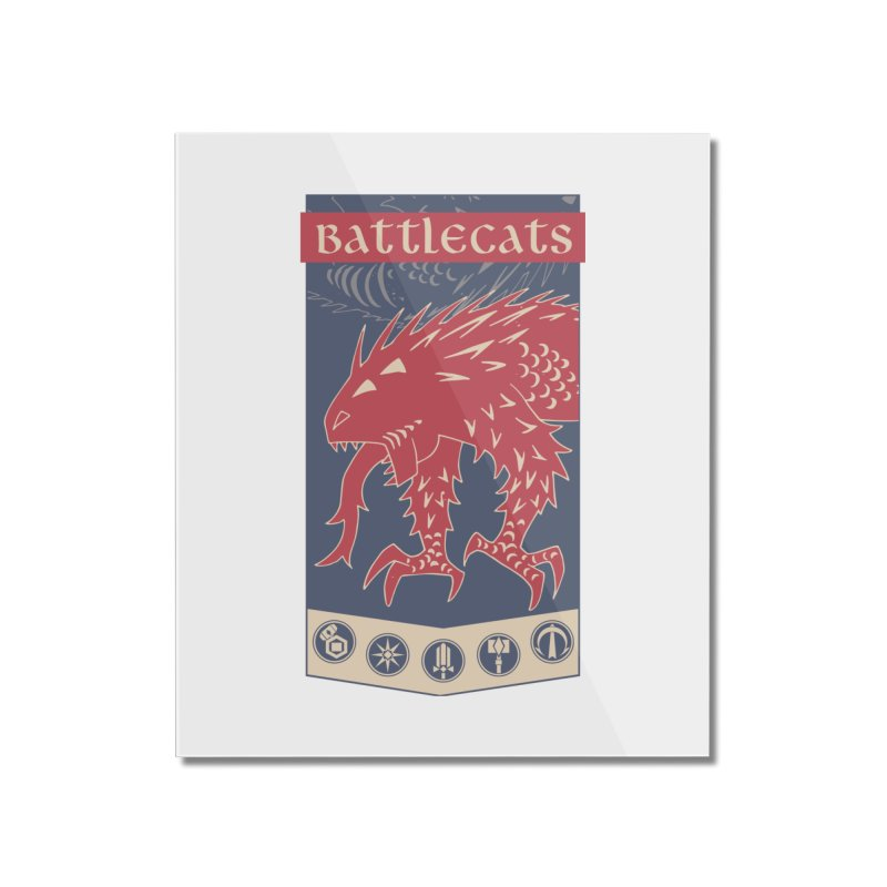 Battlecats - The Dire Beast Home Mounted Acrylic Print by Mad Cave Studios's Artist Shop