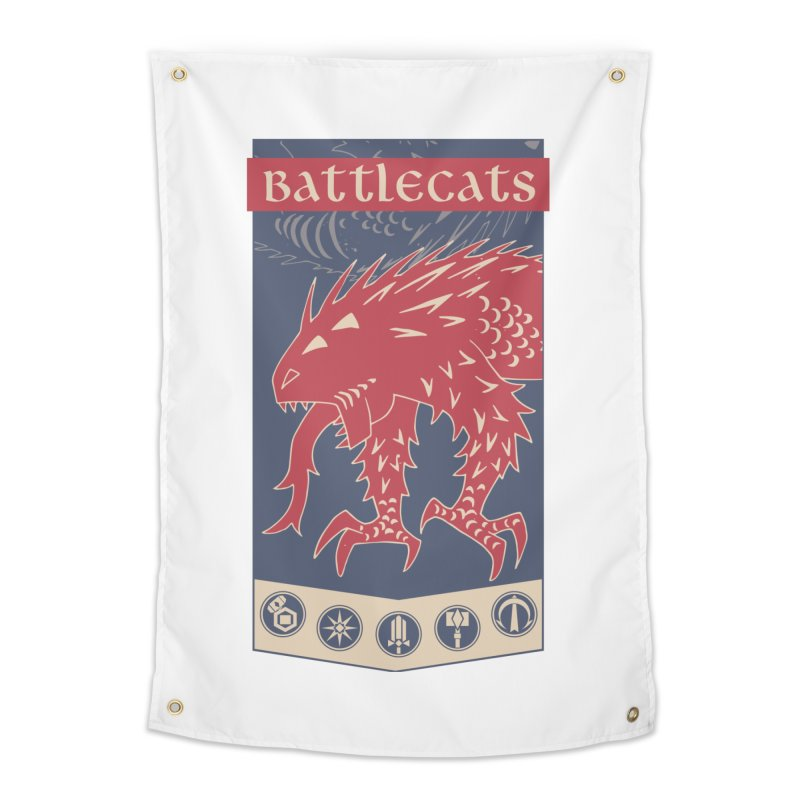 Battlecats - The Dire Beast Home Tapestry by Mad Cave Studios's Artist Shop