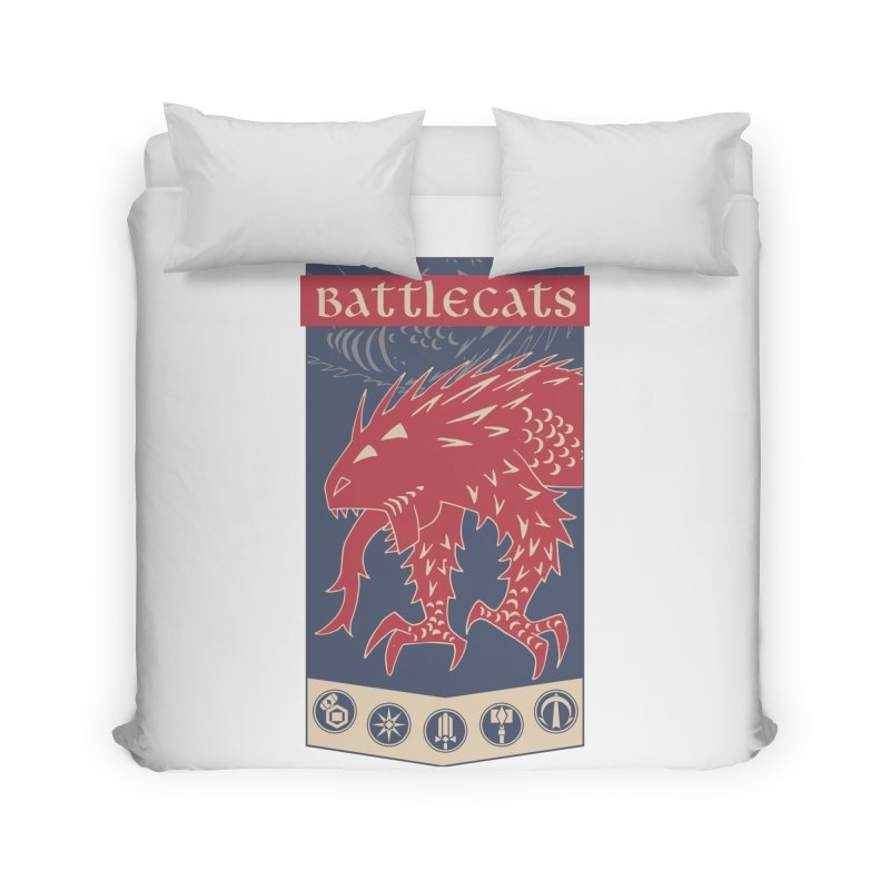 Battlecats - The Dire Beast Home Duvet by Mad Cave Studios's Artist Shop