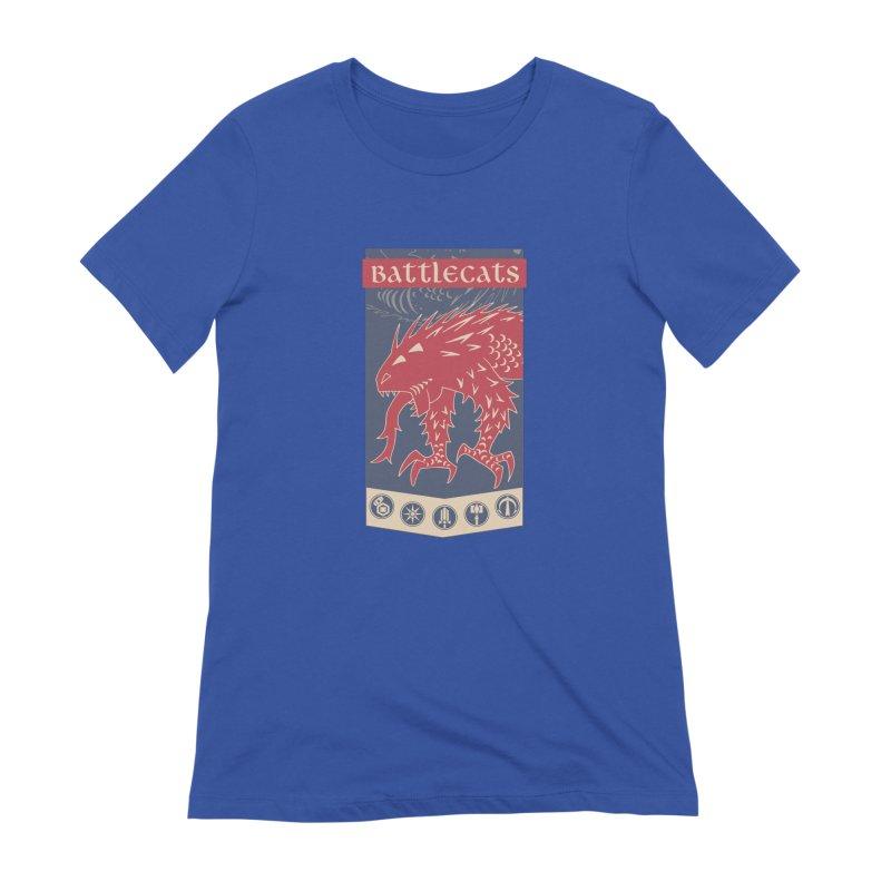 Battlecats - The Dire Beast Women's Extra Soft T-Shirt by Mad Cave Studios's Artist Shop