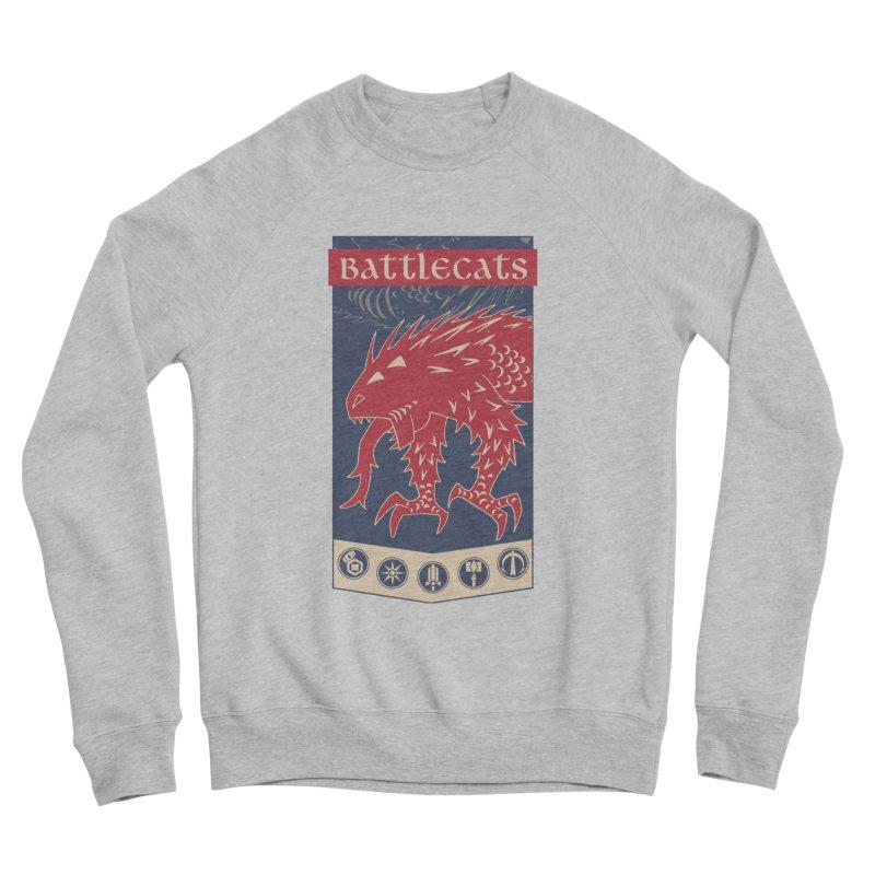 Battlecats - The Dire Beast Women's Sponge Fleece Sweatshirt by Mad Cave Studios's Artist Shop