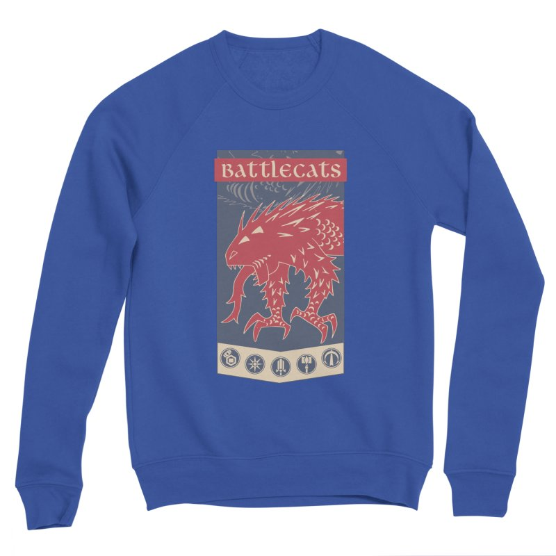 Battlecats - The Dire Beast Men's Sponge Fleece Sweatshirt by MadCaveStudios's Artist Shop
