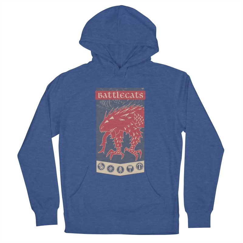 Battlecats - The Dire Beast Women's French Terry Pullover Hoody by MadCaveStudios's Artist Shop