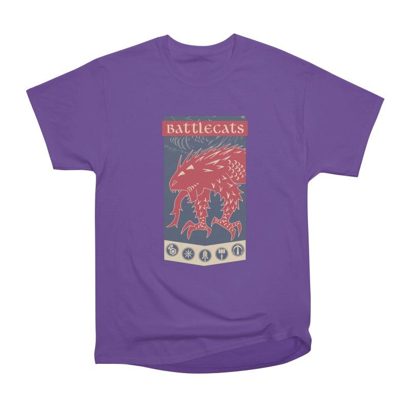 Battlecats - The Dire Beast Women's Heavyweight Unisex T-Shirt by Mad Cave Studios's Artist Shop