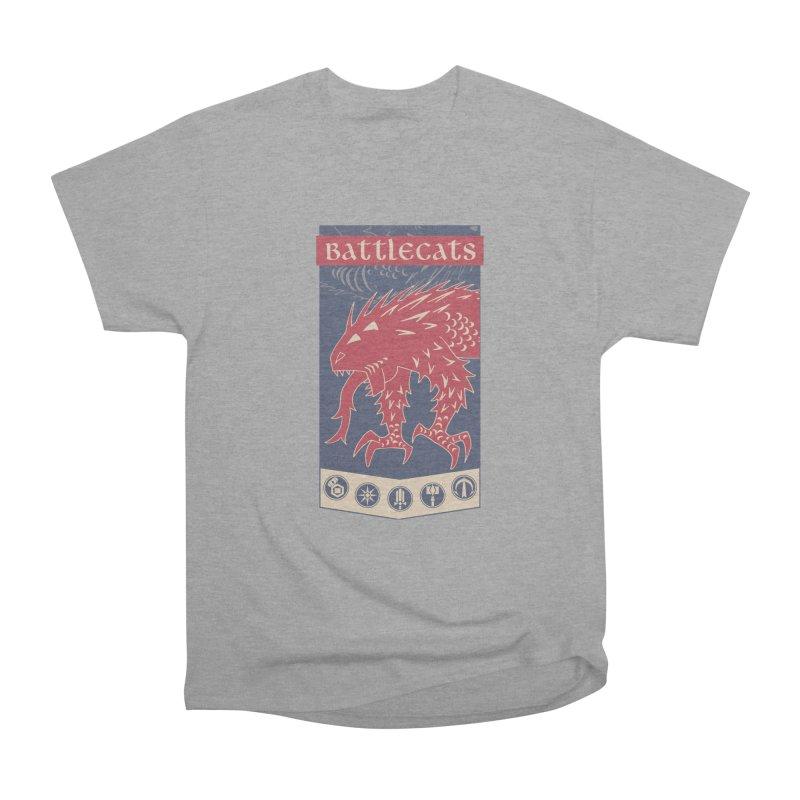 Battlecats - The Dire Beast Men's Heavyweight T-Shirt by Mad Cave Studios's Artist Shop