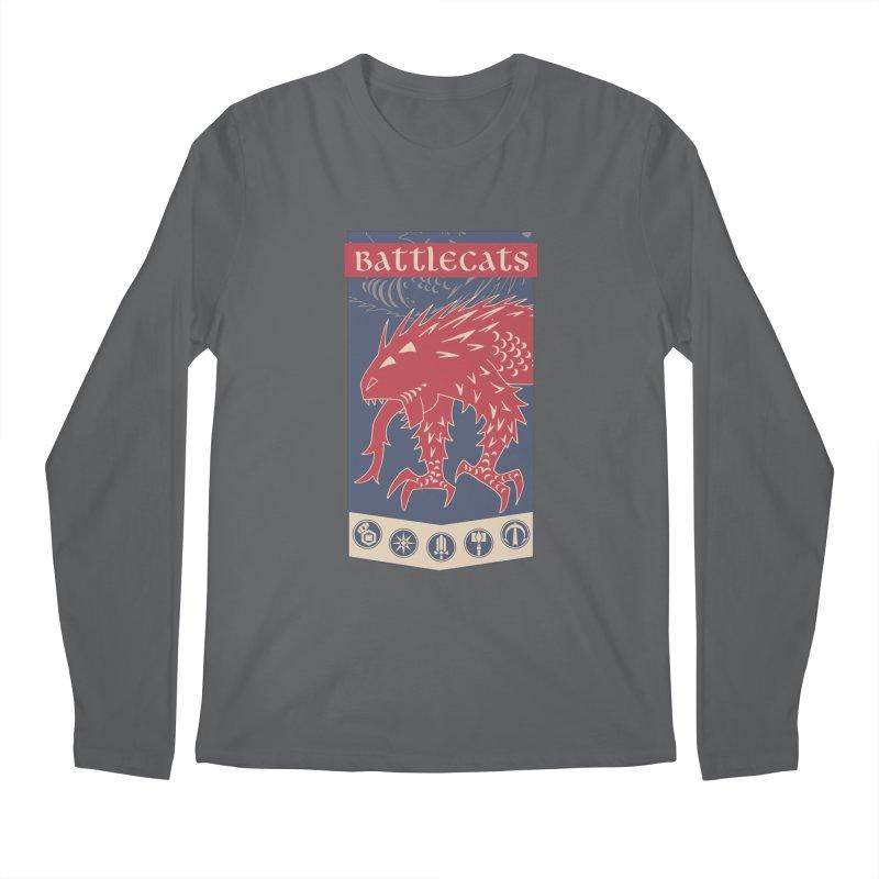 Battlecats - The Dire Beast Men's Regular Longsleeve T-Shirt by Mad Cave Studios's Artist Shop