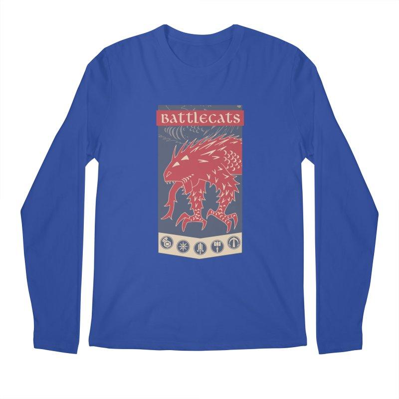 Battlecats - The Dire Beast Men's Regular Longsleeve T-Shirt by MadCaveStudios's Artist Shop