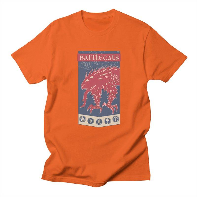 Battlecats - The Dire Beast Men's Regular T-Shirt by Mad Cave Studios's Artist Shop