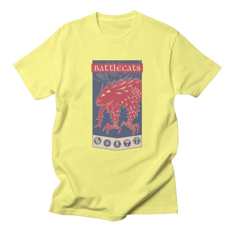 Battlecats - The Dire Beast Women's Regular Unisex T-Shirt by MadCaveStudios's Artist Shop