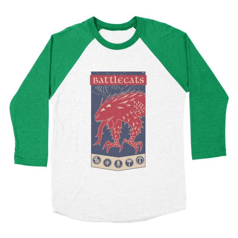 Battlecats - The Dire Beast Women's Baseball Triblend Longsleeve T-Shirt by Mad Cave Studios's Artist Shop