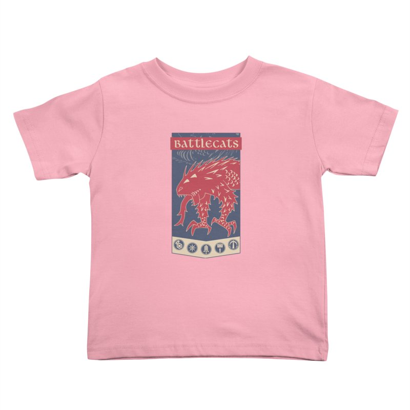 Battlecats - The Dire Beast Kids Toddler T-Shirt by Mad Cave Studios's Artist Shop