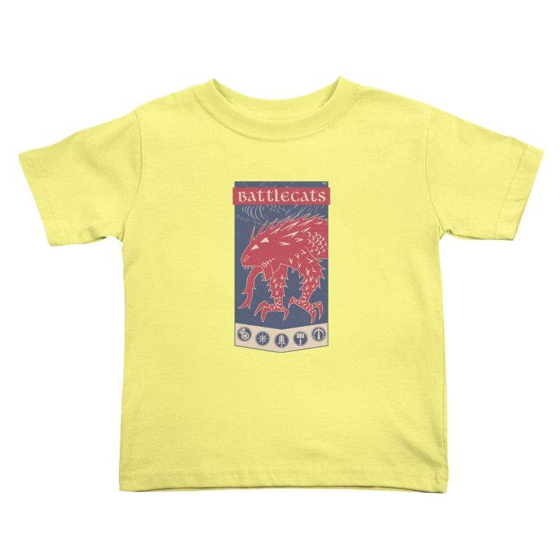 Battlecats - The Dire Beast Kids Toddler T-Shirt by MadCaveStudios's Artist Shop