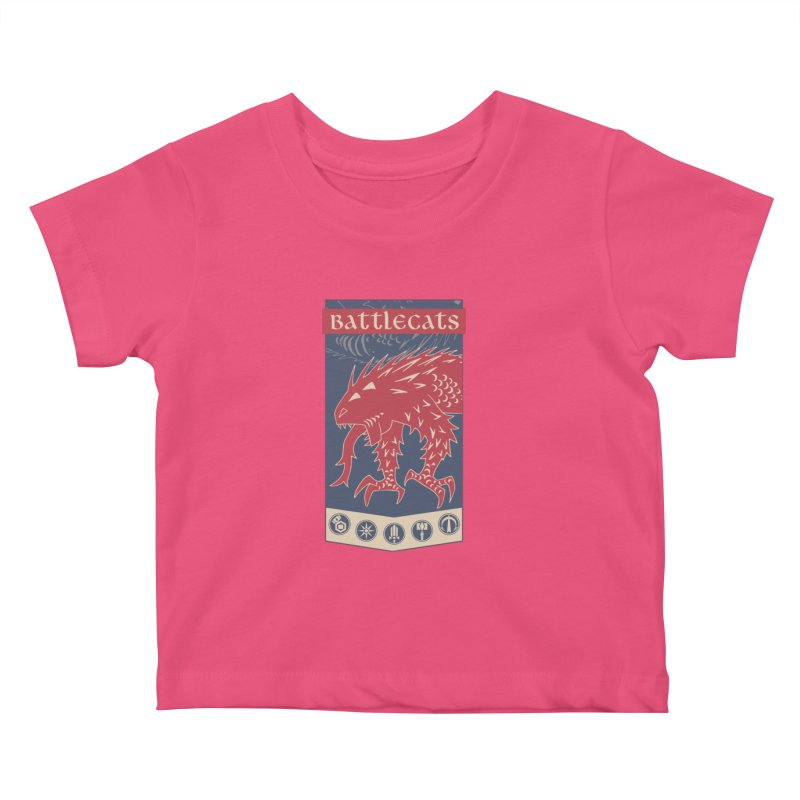 Battlecats - The Dire Beast Kids Baby T-Shirt by MadCaveStudios's Artist Shop