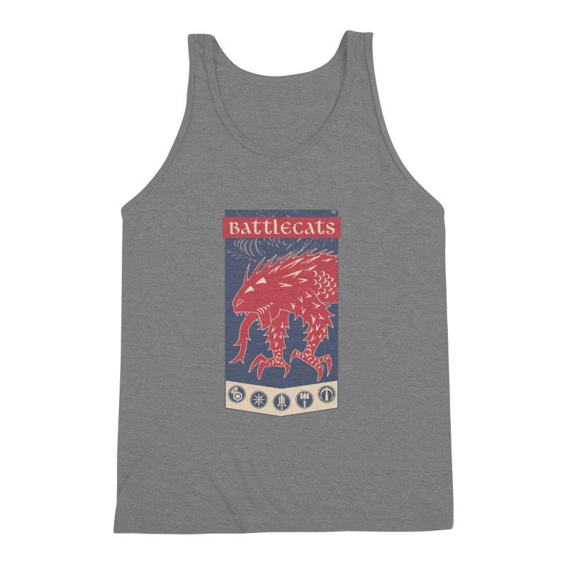 Battlecats - The Dire Beast Men's Triblend Tank by Mad Cave Studios's Artist Shop