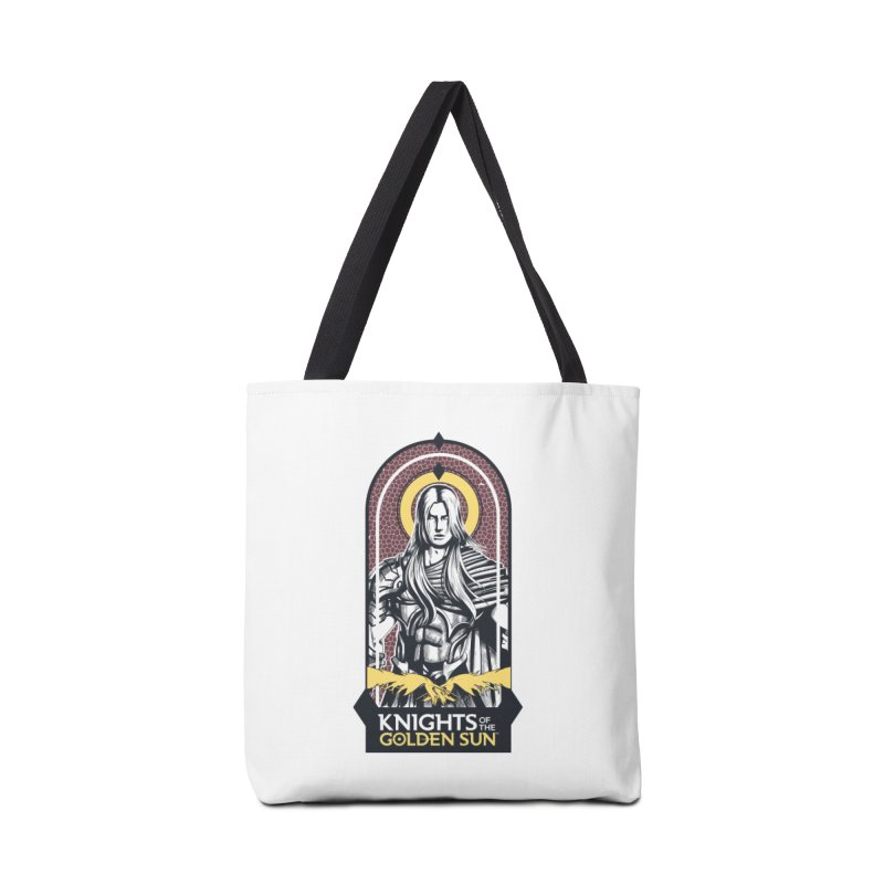 Knights of the Golden Sun: Archangel Michael Accessories Tote Bag Bag by Mad Cave Studios's Artist Shop