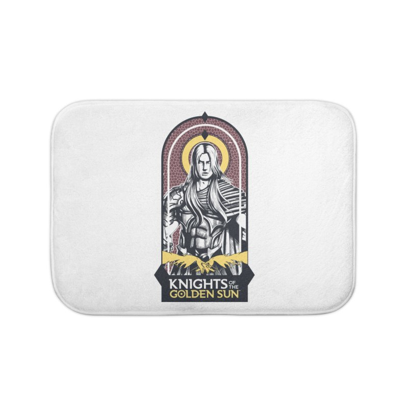 Knights of the Golden Sun: Archangel Michael Home Bath Mat by Mad Cave Studios's Artist Shop