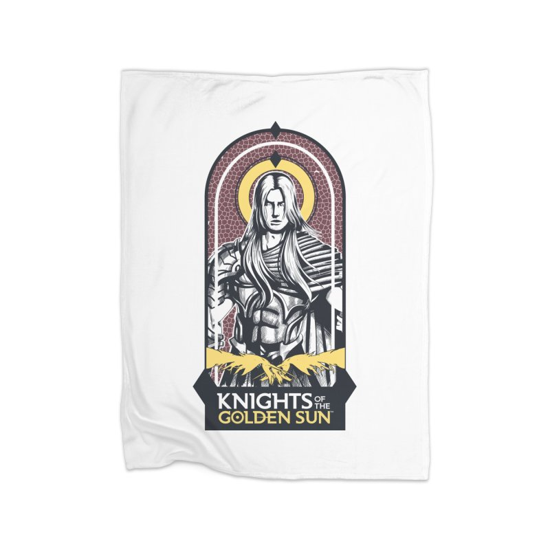 Knights of the Golden Sun: Archangel Michael Home Fleece Blanket Blanket by Mad Cave Studios's Artist Shop