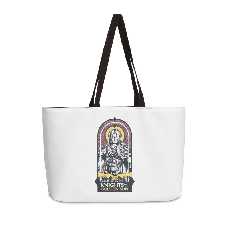 Knights of the Golden Sun: Archangel Michael Accessories Weekender Bag Bag by Mad Cave Studios's Artist Shop