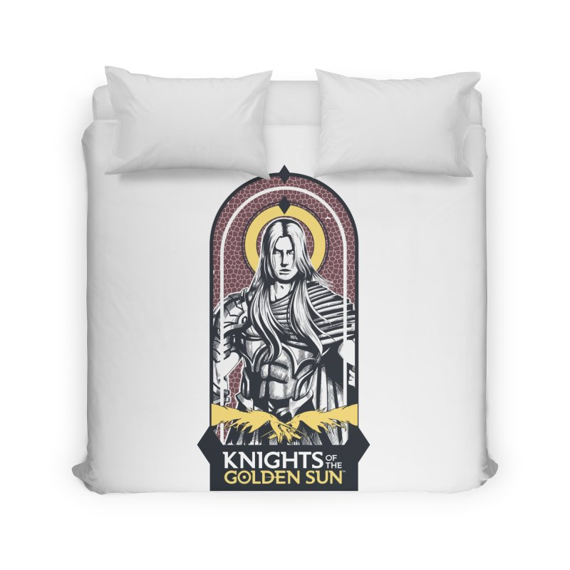Knights of the Golden Sun: Archangel Michael Home Duvet by Mad Cave Studios's Artist Shop