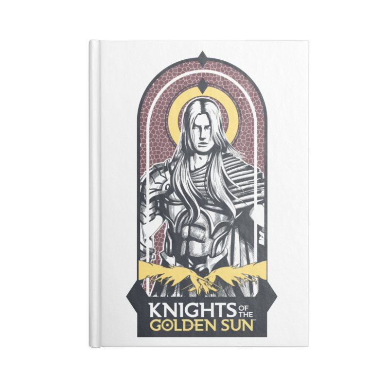 Knights of the Golden Sun: Archangel Michael Accessories Blank Journal Notebook by Mad Cave Studios's Artist Shop