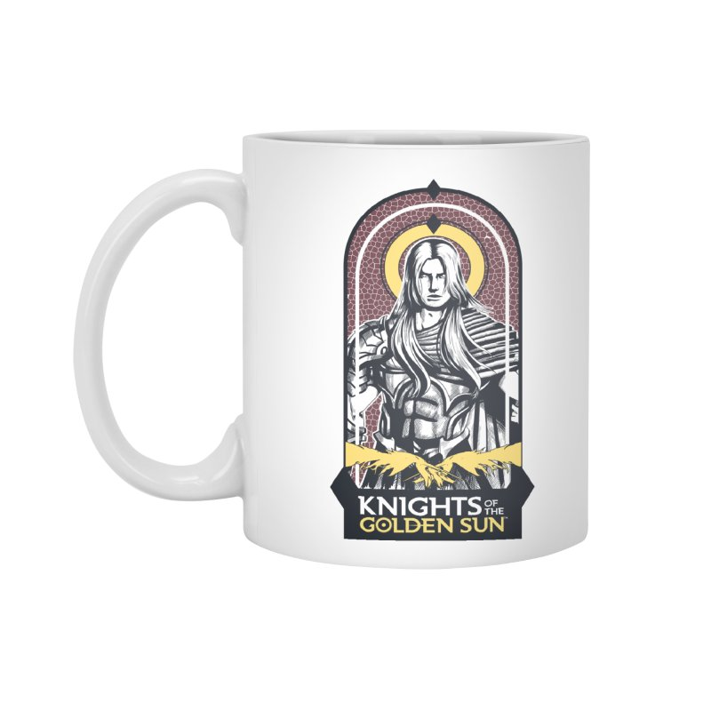 Knights of the Golden Sun: Archangel Michael Accessories Mug by Mad Cave Studios's Artist Shop